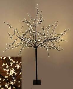 2MR-Tall-Led-Blossom-Tree-Light-Floor-Lamp-White-Flower-Petals-Home-Decoration