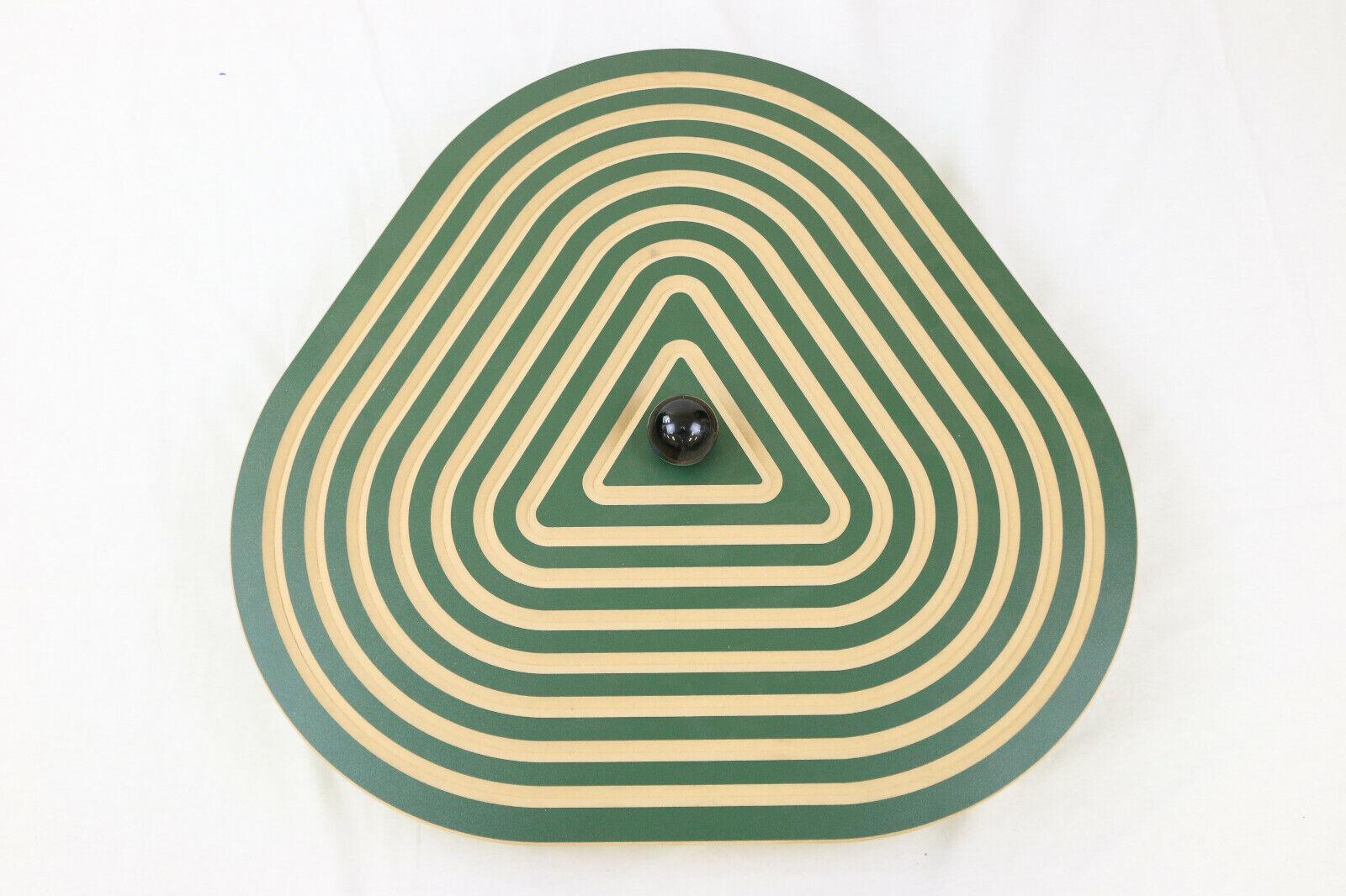 Wandkreisel Triangel Wandhalterung Holz Ausdauer Wahrnehmung Wandspiel Therapie