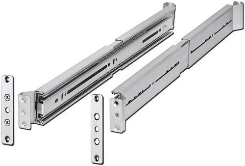 """Full Extension Open Rack Cabinet NEW Rackmount Slide Rail IPC 18/"""" Universal"""