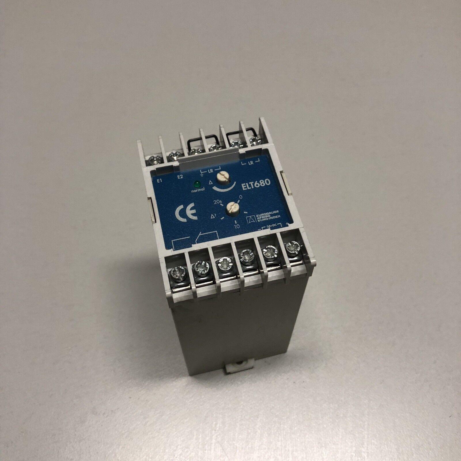 Eurogauge   ELT 680   Conductivity Level Switch + Timer