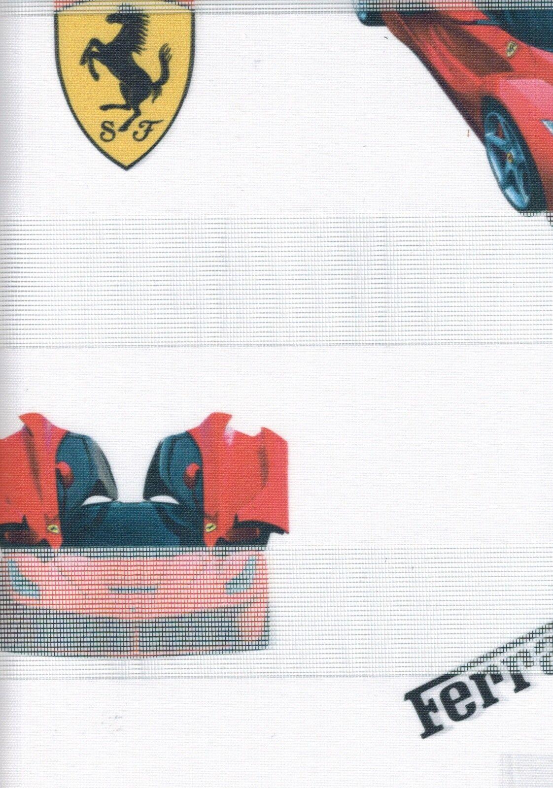 Art.  Ferrari Maßanfertigung Maßanfertigung Maßanfertigung KINDER Duo Rollo mit Kettenzug Doppelrollo Auto e3b882