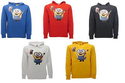 Acquista A Buon Mercato Felpa Minions Originale 2016 Con Cappuccio Bob Con Orsetto Tim Sweat Sweatshirt