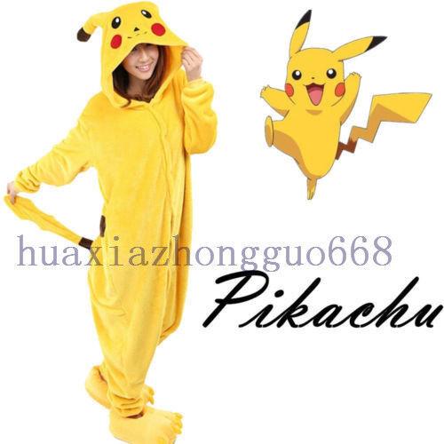 Adults Anime Pokemon Go Kigurumi Pyjamas Cosplay Costume  Jumpsuit Pajamas