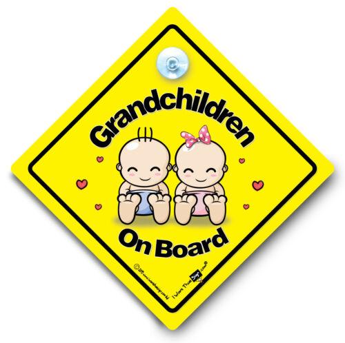 Bébé À Bord Voiture Signe Ventouse Voiture Signe Petits-Enfants À Bord Voiture Signe 3