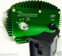 Bay Hydro 1000w De High Frequency 106 Khz High Quality Ballast Solis Lumatek