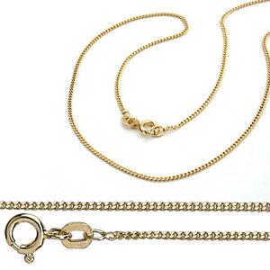 Juwelier Flach Panzer Kette Stärke 2,1 mm aus Echt Gold 333 (8 Kt) Gelbgold Neu