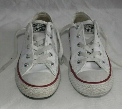 NEW BABY GIRLS First Converse UK Size 4 Pink White In