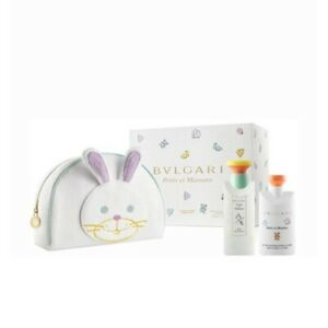 Petits Et Mamans By Bvlgari Set 3 4 Oz Edt 2 5 Oz Body Lotion Toiletry Pouch 783320411656 Ebay