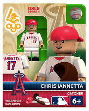 Chris Iannetta MLB Los Angeles Angels Oyo Mini Figure NEW G3