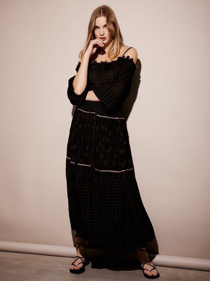 Vestido Maxi Esmerelda Free People-M -  300 precio  minorista sugerido por el fabricante  para proporcionarle una compra en línea agradable