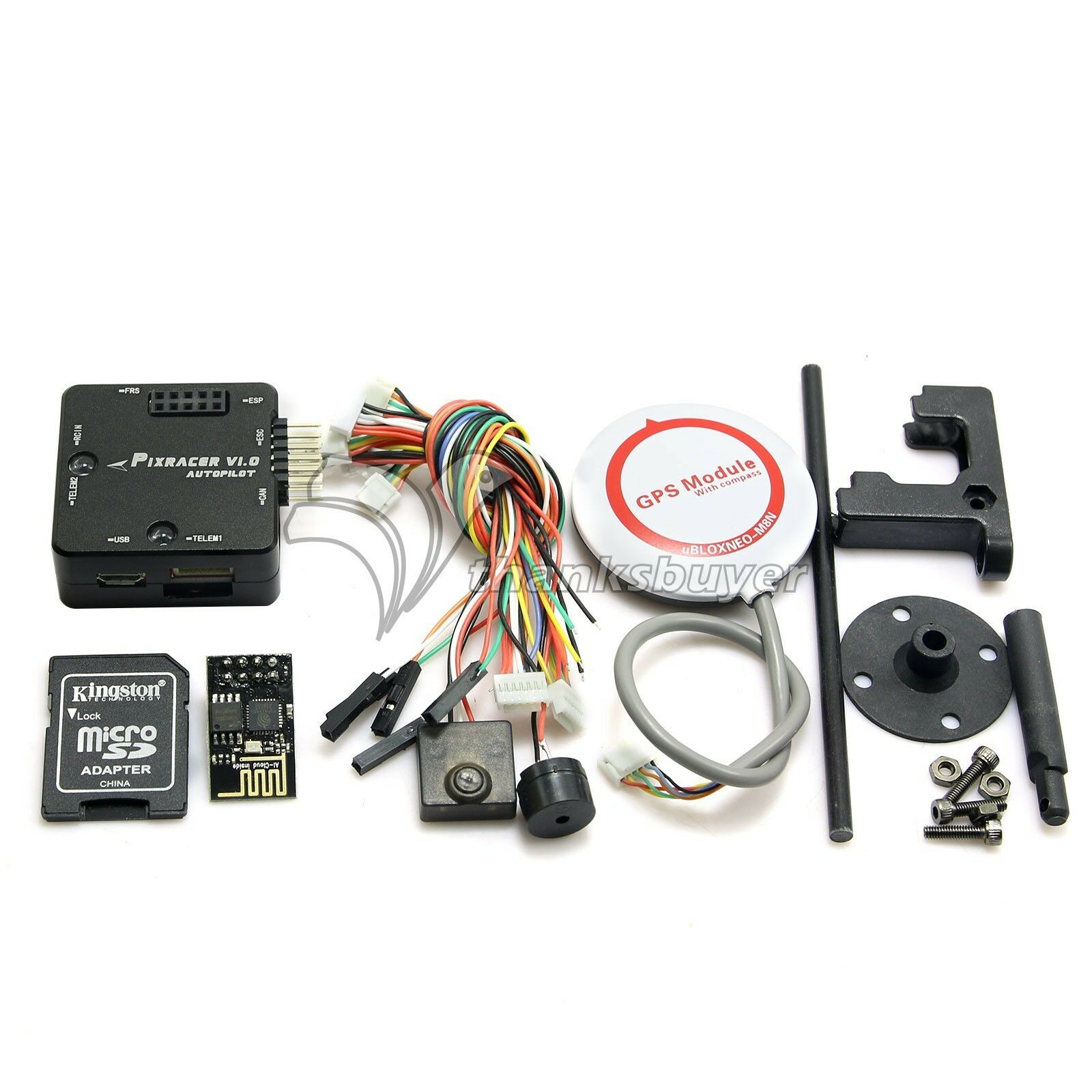 Mini Pixracer Autopilot Xracer V4 PX4 Flight Controller + M8N GPS for FPV