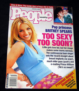 2000-People-BRITNEY-SPEARS-Too-Sexy-Too-Soon-NICE-MINT-COPY