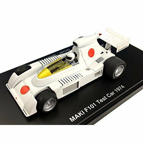 1 43 Maki F101 Test Car 1974 Resin Model Fomula Hiroshima Figure Hayami New