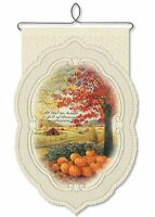 Full Of Blessings Wall Hanging Heritage Lace - Autumn Fall - Pumpkin Leaves