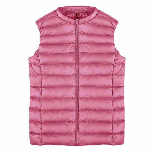 Womens Waistcoat Vest Coat Vest Winter Outerwear Sleeveless Jacket Warm Overcoat