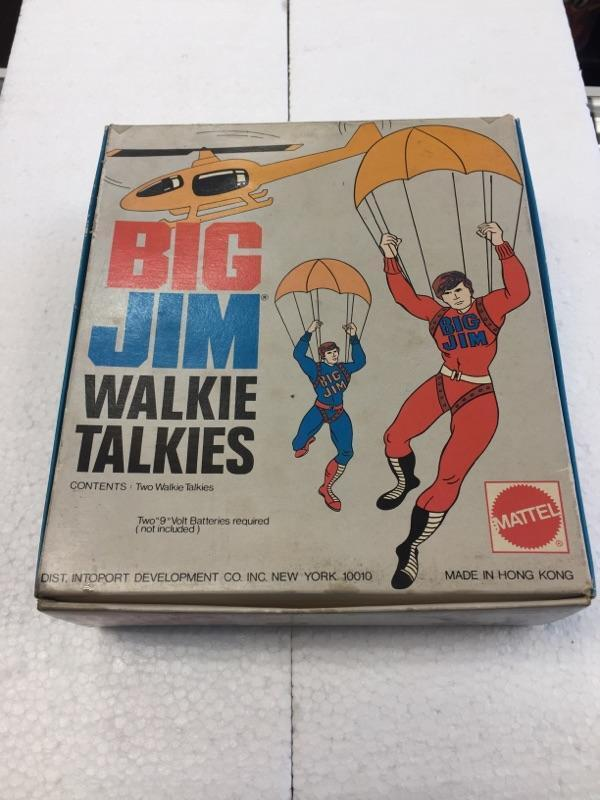 BIG JIM Walkie Talkies by Mattel