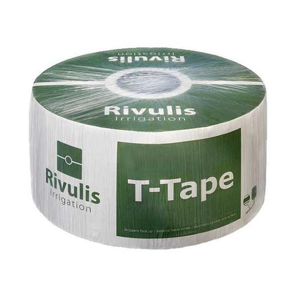 T-TAPE 5 8  Drip Tape Irrigation Line 8  0.67GPM 10MIL 6000FT Row Crop Rivulis