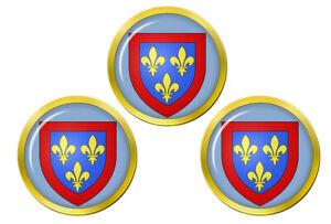 Anjou-France-Marqueurs-de-Balles-de-Golf