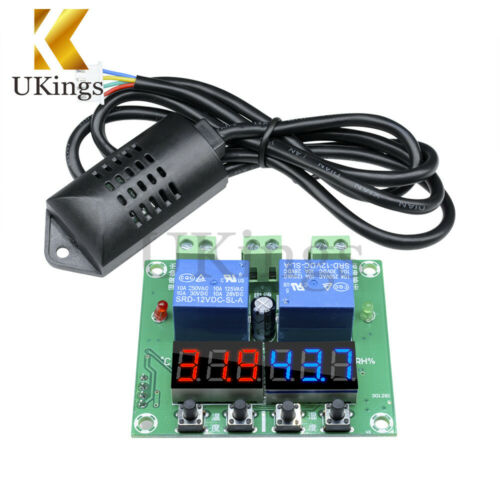 XH-M452 DC 12V LED Digital Display Temperature Humidity Thermostat Controller