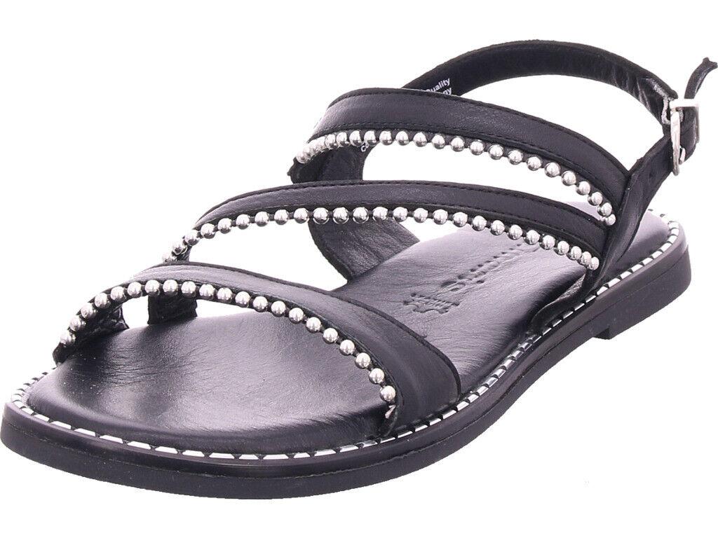 Tamaris señora woms sandals sandalia decorado negro