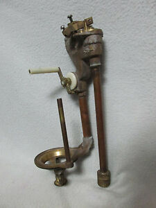 Image Is Loading Vintage Brass Kohler Model 51329 Toilet Flush Valve