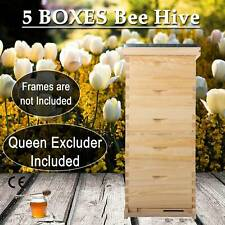 10-Frame size 5 Box Beehive Frames /Bee Hive Frame/ Bee House for Beekeeping