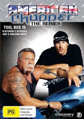 1 of 1 - American Chopper : The Series - Tool Box 15 (DVD, 2010, 3-Disc Set) - Region 4