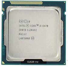 Intel Core i5-3470 SR0T8 - Quad Core 3.20Ghz FCLGA1155 Processor CPU