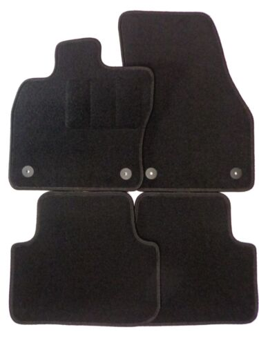 Alfombras tapices adecuado para Seat Ateca a partir del año 06//2016 negro de coche alfombras ALFOMBRILLAS COCHE