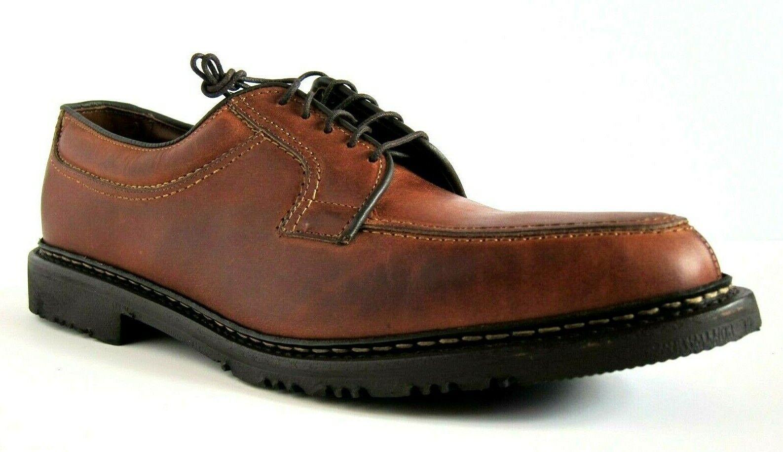 EXCELLENT Allen Edmonds Wilbert Leather Mens Oxford Moc shoes 9.5A 9.5 A