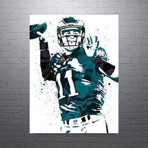 Carson Wentz Philadelphia Eagles Poster FREE US SHIPPING