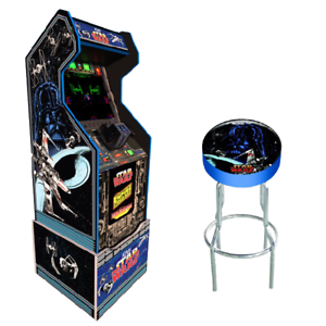 Star-Wars-Retro-Arcade1UP-Home-Cabinet-Machine-Free-Stool-Robot-Arcade-1UP-Riser