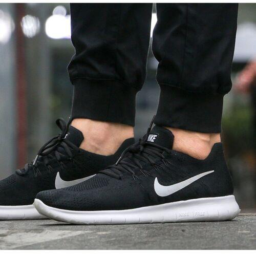 Taille Nike 001NoirBlanc Rn Flyknit 2017 Hommes 42880843 Free Eur 7 5 0Pkw8nO
