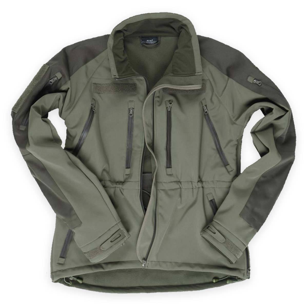 Da Uomo Tattico Giacca Softshell Militare Esercito Impermeabile MIL-SPEC cappotto verde