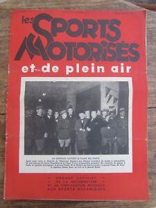 Ancienne Revue Les Sports Motorises N° 18 Novembre/decembre 1937 Msqdfm5l-08010735-417688074