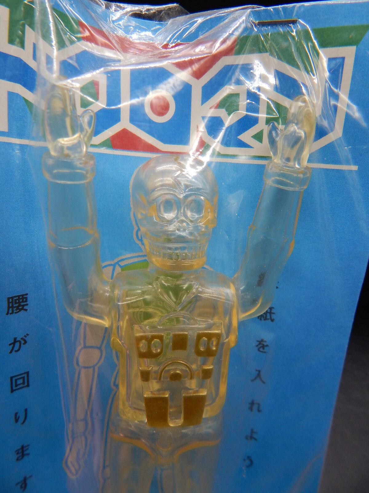 RARE Gargamel toy DOKUROMAN Japanese sofubi Microman type figure SEALED vinyl