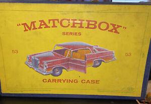 MATCHBOX Lesney 1965 40 Auto Custodia Vintage belle!