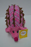 Circo Target Pink Porcupine Plush Hedgehog Armadillo Baby Toy 12x9