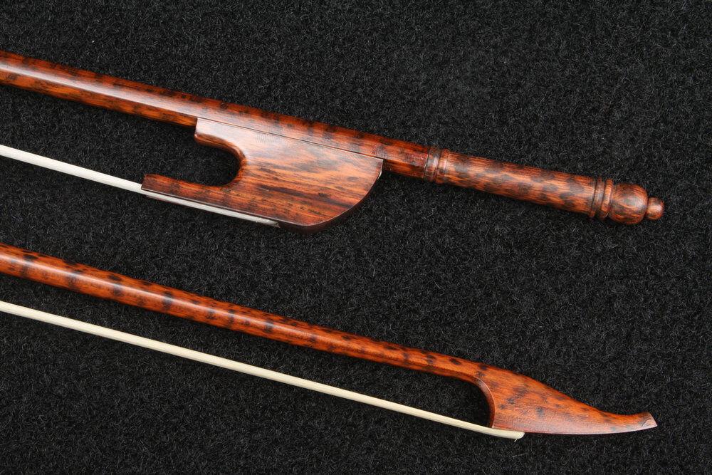 Schlangenholz Celli Barock Bogen Baroque Cello Bow Snakewood 76.5CM 75-78g