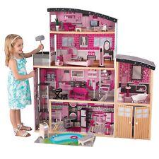Kidkraft 65826 Puppenhaus Glitzer Puppen-Villa holz Sparkle Dollhouse