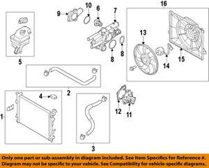 2012 hyundai sonata engine diagram hyundai oem 11 15 sonata engine water pump gasket 256332g000 ebay  11 15 sonata engine water pump gasket
