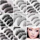10Pairs Makeup Handmade Natural/Thick Black False Eyelash Eye Lashes Extension