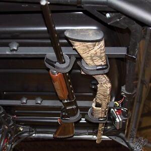 utv overhead gun rack carrier for john deere gator rifle