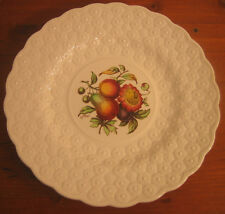 #5 Copeland Spode Luncheon Plate Ring Fruit Bouquet Embossed Daisies England