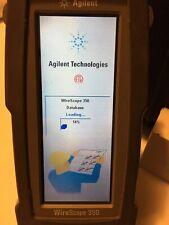 Agilent Wirescope 350 Digital Cable Tester Analyzer Cat5e Cat6 Smmm Withwarranty
