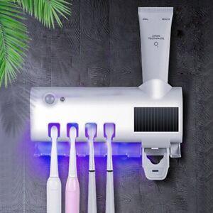 Zahnbürste Automatische UV Wandmontage Zahnpasta Spender Sterilisator Halter