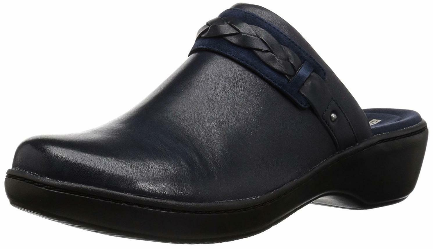 CLARKS Women's Delana Abbey Clog - Choose SZ color color color fe7497