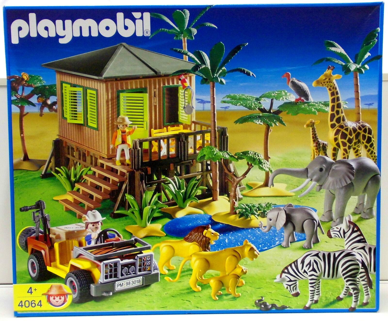 Talla Safari Estación Exclusivo Set Playmobil 4064 VARIOS`04 ZU África Animales