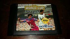 Tecmo World Cup (Sega Genesis, 1992)Tested