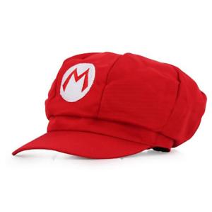 Super Mario Sombrero Mario Luigi Wario Waluigi Gorra Disfraz Anime Disfraz Vestido